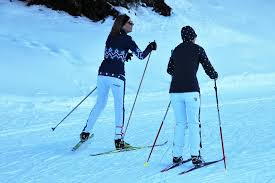 Introduction to ski lessons for children